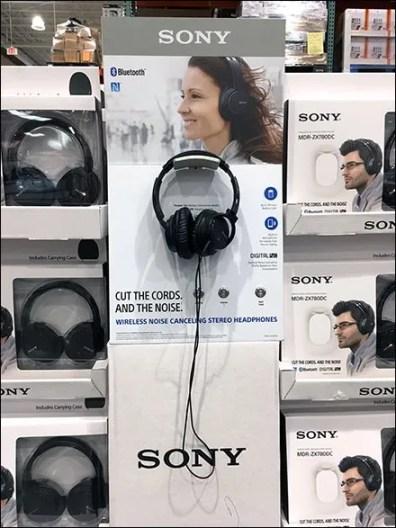 Sony Headphone Try-Me 2
