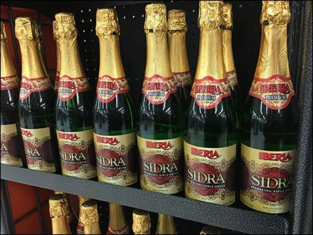 Sparkling Apple Wine Overstock At Weis
