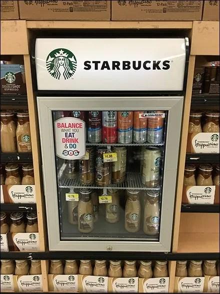 Starbucks Mini Cooler Maxi Endcap Display