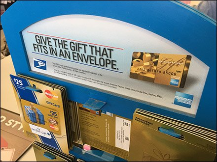 Give The Gift That Fits In An USPS Envelope