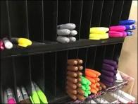 Unbranded Felt Tip Pen Merchandising