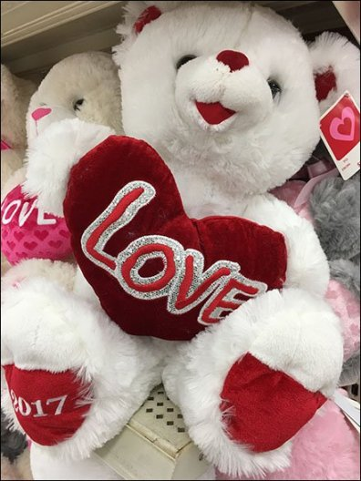 Valentines Day Plush Shelf Merchandising 3