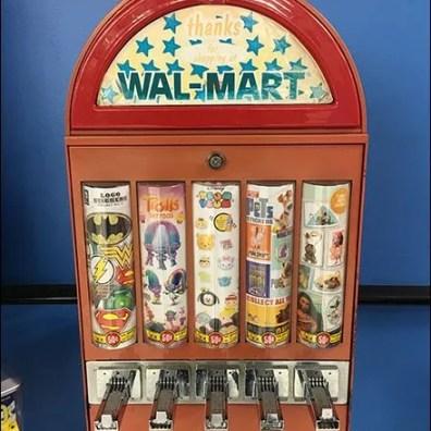 Walmart Tattoo Gumball Machine 2