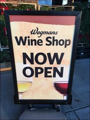 Wegmans Wine Shop Grand Opening