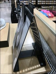 Adidas A-Frame Table-Top Perforated Sign