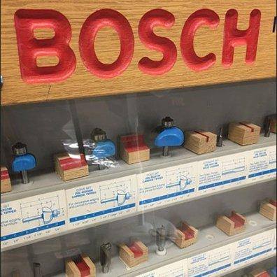 Bosh Router Endcap Display Case 3