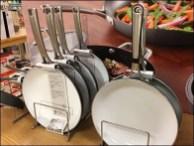 Calphalon Table Top Pot and Pan Display 2