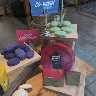 Cheese Wheel Soap Visual Merchandising 3