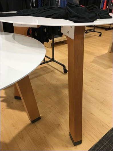 Circular Sawhorse Table Outfitting 3