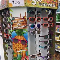 Corrugated Sunglass Tower 2