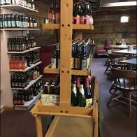 Craft Beer Wood Cart At Goldsteins
