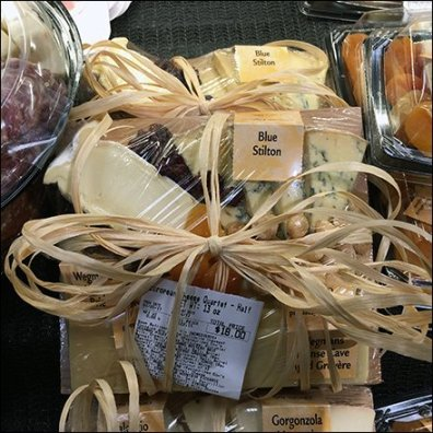 Twine-Tied Cheese Samplers At Wegmans
