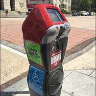 Handicapped Parking Meter Height Accessibility