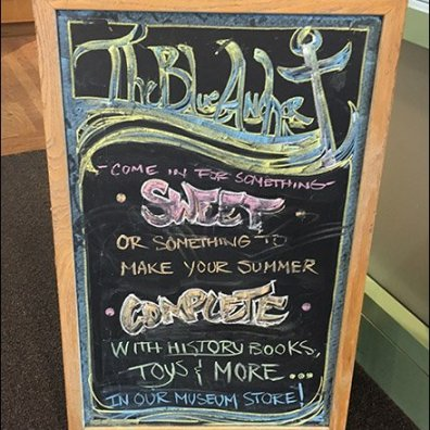 Blue Anchor Gift Shop Chalkboard Sign Trolls For Customers