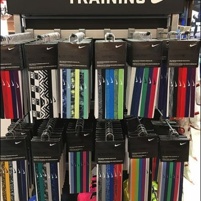 Nike Headband Hangers Hook In Training