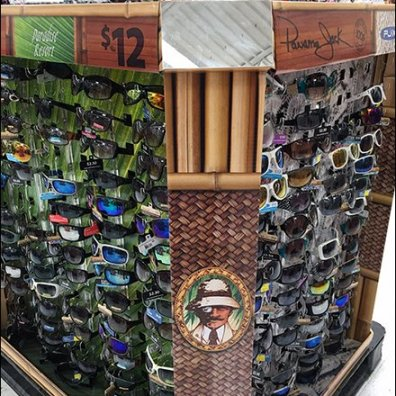 One-Eyed Panama Jack Sunglasses Pallet Display