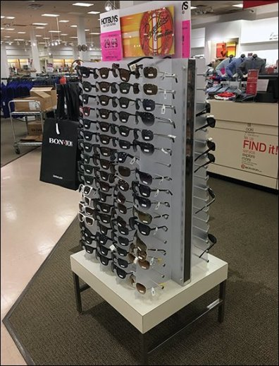 Summer Somewhere Sunglasses Paradise Collection Display