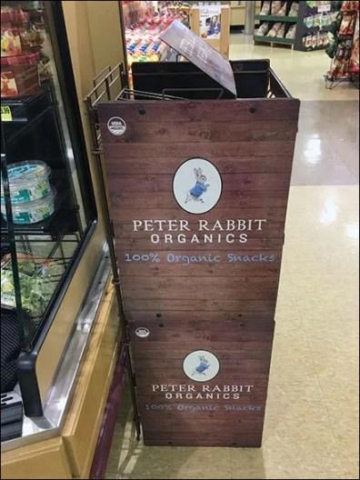 Peter Rabbit Pouch Hook Organics Rack 2