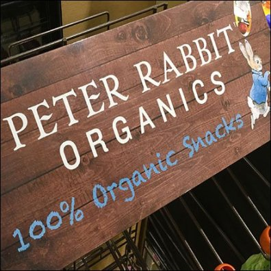Peter Rabbit Pouch Hook Organics Rack Feature1