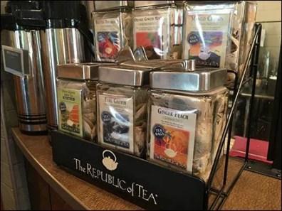 Republic of Tea Rack