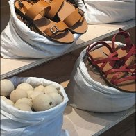 Sandals Sold In Sacks Visual Merchandising 5