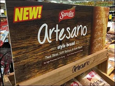SaraLee Artesano Bread Declined Wood Rack