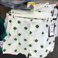 Four Leaf Clover Boxer Short Faceout