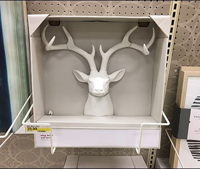 Stag Head Trophy Literature Holder 2