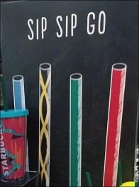 Sip-Sip-Go Starbucks Branded Straws