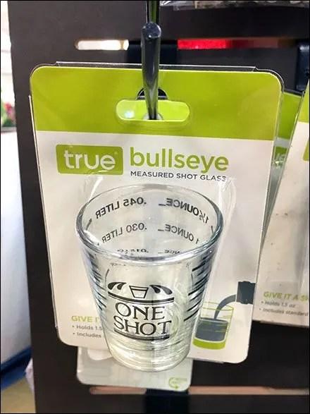 True Drinking Buddies Shot Glass Hooked