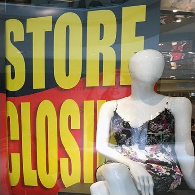 Store Closings In Retail
