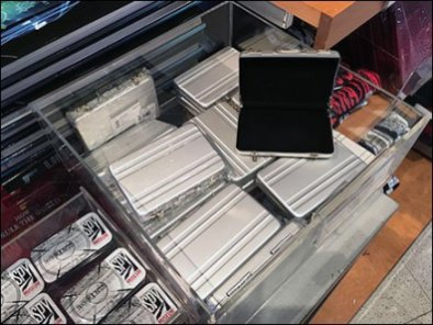 Miniature Spy Briefcase Clear Acrylic Bulk Bin