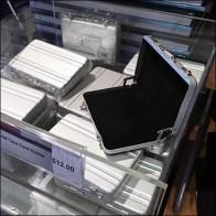 Briefcase Acrylic Bulk Bin Merchandising Feature