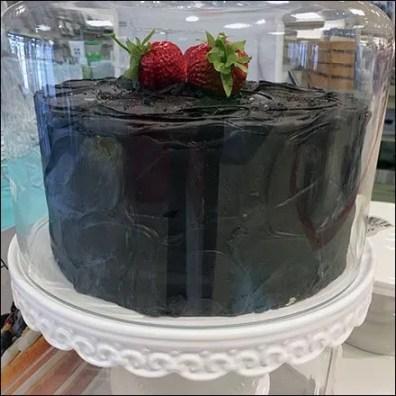 Cake Props In Glassware Cake Domes