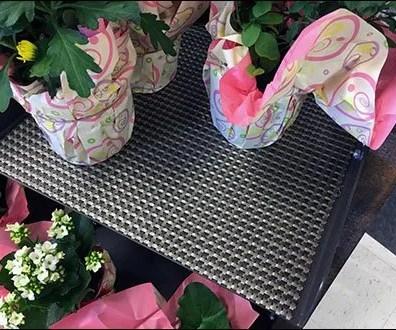 Carbon Fiber Shelf Overlay In Retail