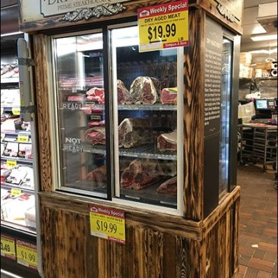 Dry Aged Beef Category Definition Cabinet