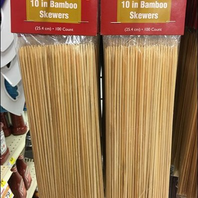 Organic Grilling With Bamboo Skewers