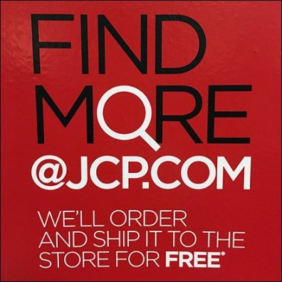 JCPenney Mobile App, Associate, or Online Feature