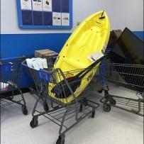 Kayak Sale and Return Retail Strategy At Walmart