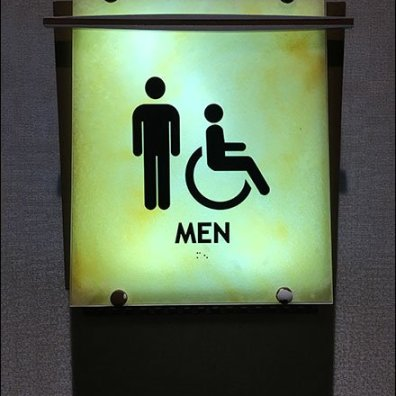 Mohegan Sun Casino Restroom Signs