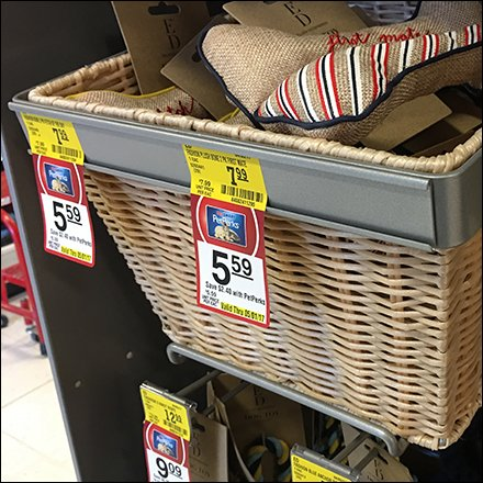 Slatwall Wicker Basket C-Channel Outfitting