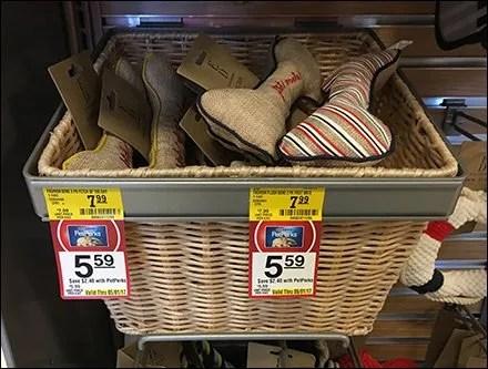 Small Wicker Basket Slatwall Merchandising