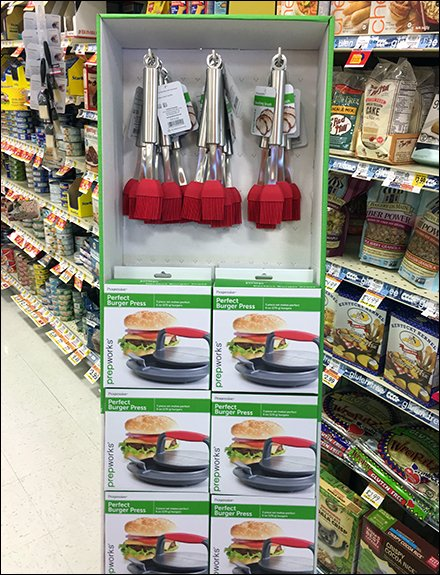 Essential Kitchen Utensil Grocery Retailing