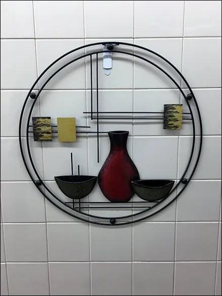 Designer Restroom Wall Art Well Hung