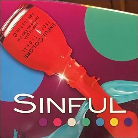 Sinful Colors Nail Polish PowerWing