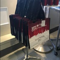 Spy Museum Shopping Bag Stand Main