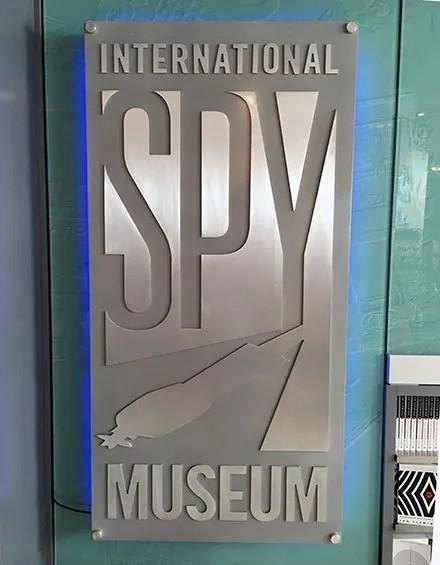 International Spy Museum Entry Branding