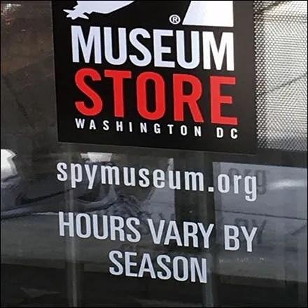 Store Hours Store Fixtures