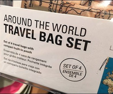 International Travel Bag Luggage Icons