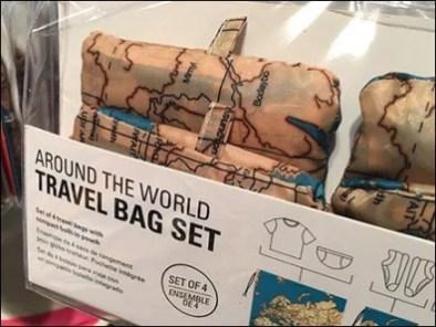 International Travel Bag Luggage Icons